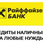 Райффайзен банк — онлайн заявка на кредит