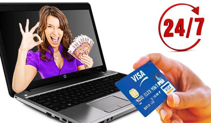 Займы на кредитную карту